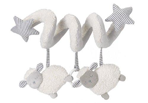 Silver Cloud - Activity Spirale für Kinderwagen, Babyschale und Babybett (Schaf)