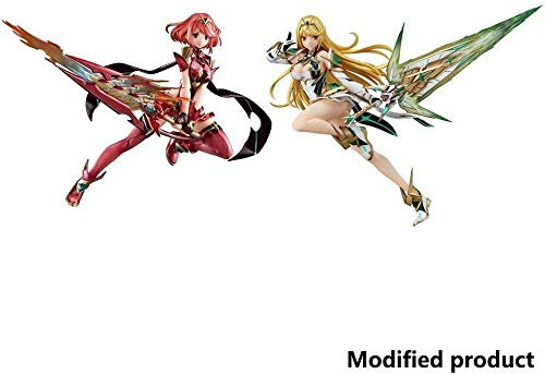 lkw-love Xenoblade Chronicles 2: PVC Pyra Figur - Mythra PVC Figur (2er Set)