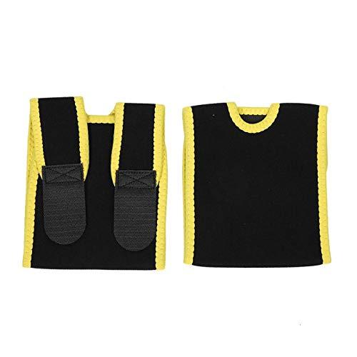 Qqmora Brazalete Reutilizable con Banda para el Vientre para Mujeres para la Belleza para Adelgazar el Cuerpo para Uso Diario(Yellow)