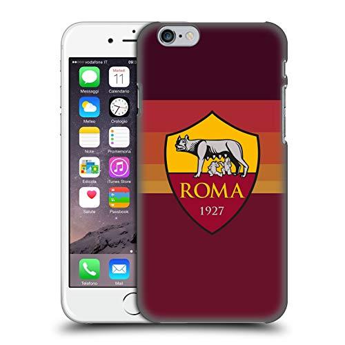 Head Case Designs Licenza Ufficiale AS Roma in Casa 2020/21 Kit Crest Cover Dura per Parte Posteriore Compatibile con Apple iPhone 6 / iPhone 6s