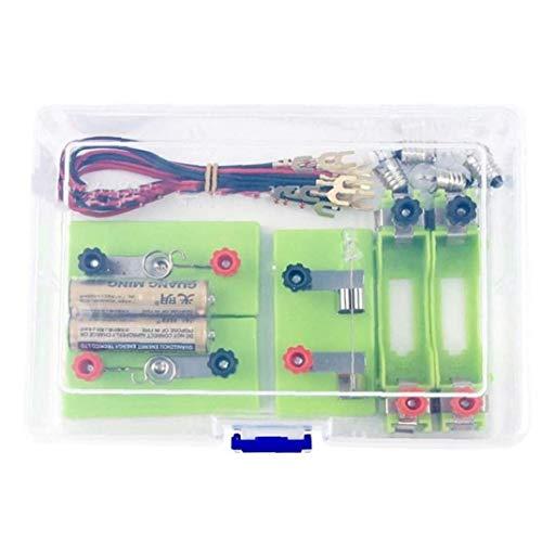 小学生 理科 電気実験キット 豆電球実験セット 直列 並列 回路ケース付き