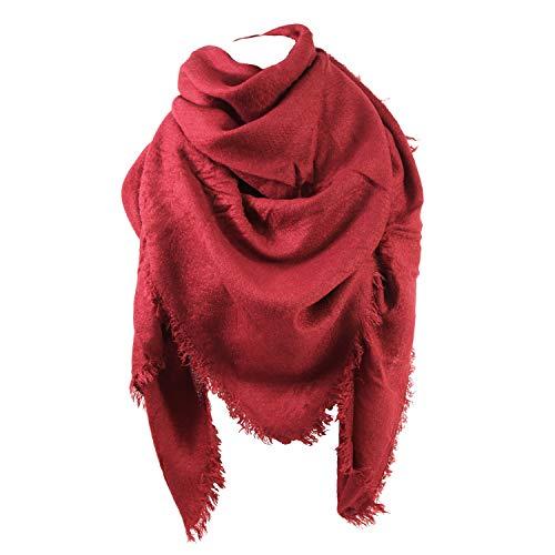 Glamexx24 Glamexx24 XXL Schal Kuschelige, warme und wunderschöne Damen Poncho Schal mit verschiedenen Muster Schal Poncho