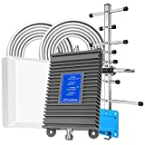 Cell Phone Signal Booster, Home Cell Phone Booster, Support All U.S. Carriers Verizon, AT&T & More, Signal Amplifier Repeater Enhance GSM 3G 4G LTE and 5G Signal Up to 4,500 sq ft, FCC Approved