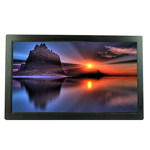 Digital Photo Frames 24-inch Photo Frame, IPS Screen, Wall-Mounted, high-Definition Advertising Player, Video Player, Electronic Photo Album (Black Color, White Color) Materials Presentation Storage