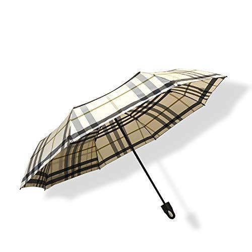 Parapluie Pliant, Ultra Petit, léger, séchage Rapide, Boucle, Treillis Classique-3