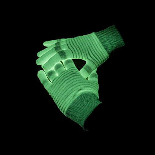 Thumbsup - 242 - Accessoire pour Déguisement - Gants Phosphorescent