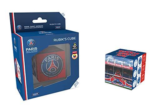 KICK OFF GAMES Cubo de Rubik´s del PSG 3X3 (Paris Saint Germain) - Rubik´s (Producto Oficial Licenciado)