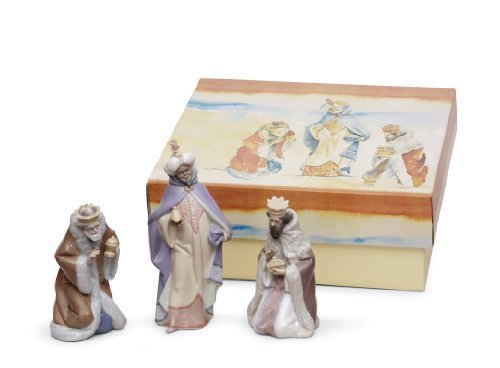 Lladro - SET THREE WISE MEN (PORCELAIN)