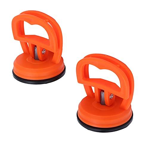 QIRG Abrazaderas de elevación, plástico de vacío doméstico + Tirador de Vidrio de Goma para Vidrio para Azulejos