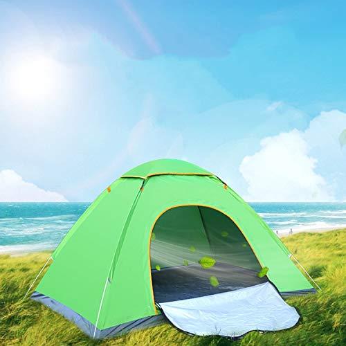 Zelt-Speed offenes Zelt im Freien Doppel-Automatik Camping-Outdoor Tourist Zelt,Green