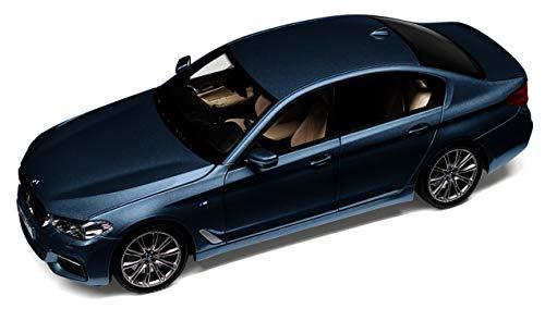 BMW Original 5-serie G30 limousine modelauto miniatuur 1:18 Bluestone met. - Collectie 2019/21