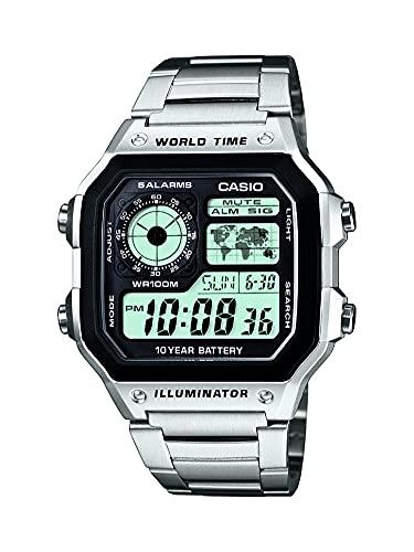 Casio Men's Stainless Steel Digital Watch