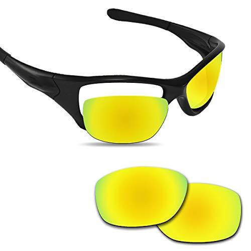 Fiskr 剥がれ防止 Oakley Pit Bull用交換レンズ 偏光 ピットブル レンズ