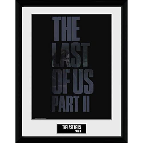 1art1 The Last of Us - Part II, Logo Poster da Collezione Incorniciato (40 x 30cm)