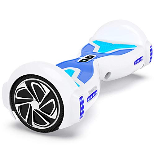 Fantastic Deal! TOMOLOO Hoverboard with Bluetooth Speaker and LED Light, UL2272 Certified 6.5 Two W...