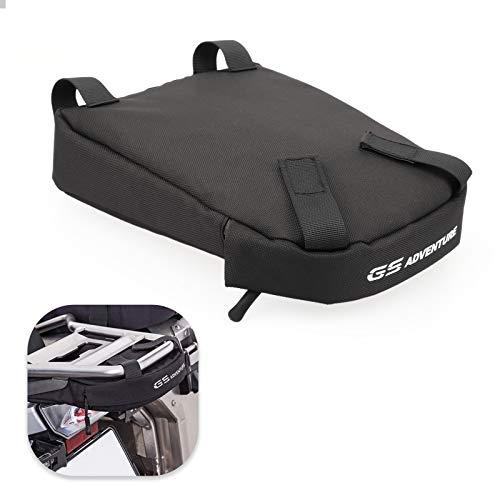 GUAIMI Bolsa de Transporte Bolsa Deposito Moto GAP BAG para B-MW R1200GS LC Adventure 2014-2018 R1250GS Adventure - Negro