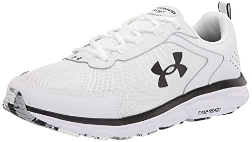 Under Armour Men's Charged Assert 9, White (101)/White, 10 X-Wide US