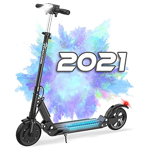 EVERCROSS HB16 Folding Electric Scooter with 8' Solid Tires & 350W Motor, Up to 20MPH...