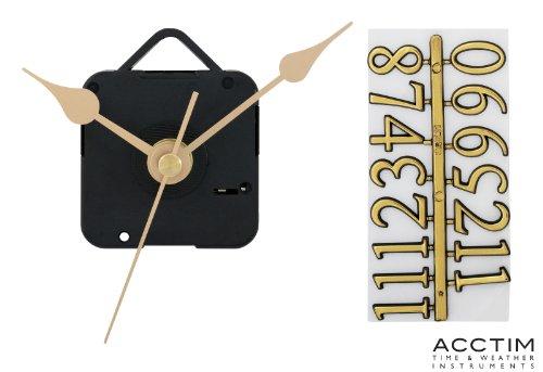 Acctim 79433 Quarz-Uhrwerk, 6,35 mm, Zifferblatt Ziffern