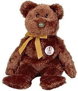 TY Beanie Baby - CHAMPION the FIFA Bear ( Brazil )