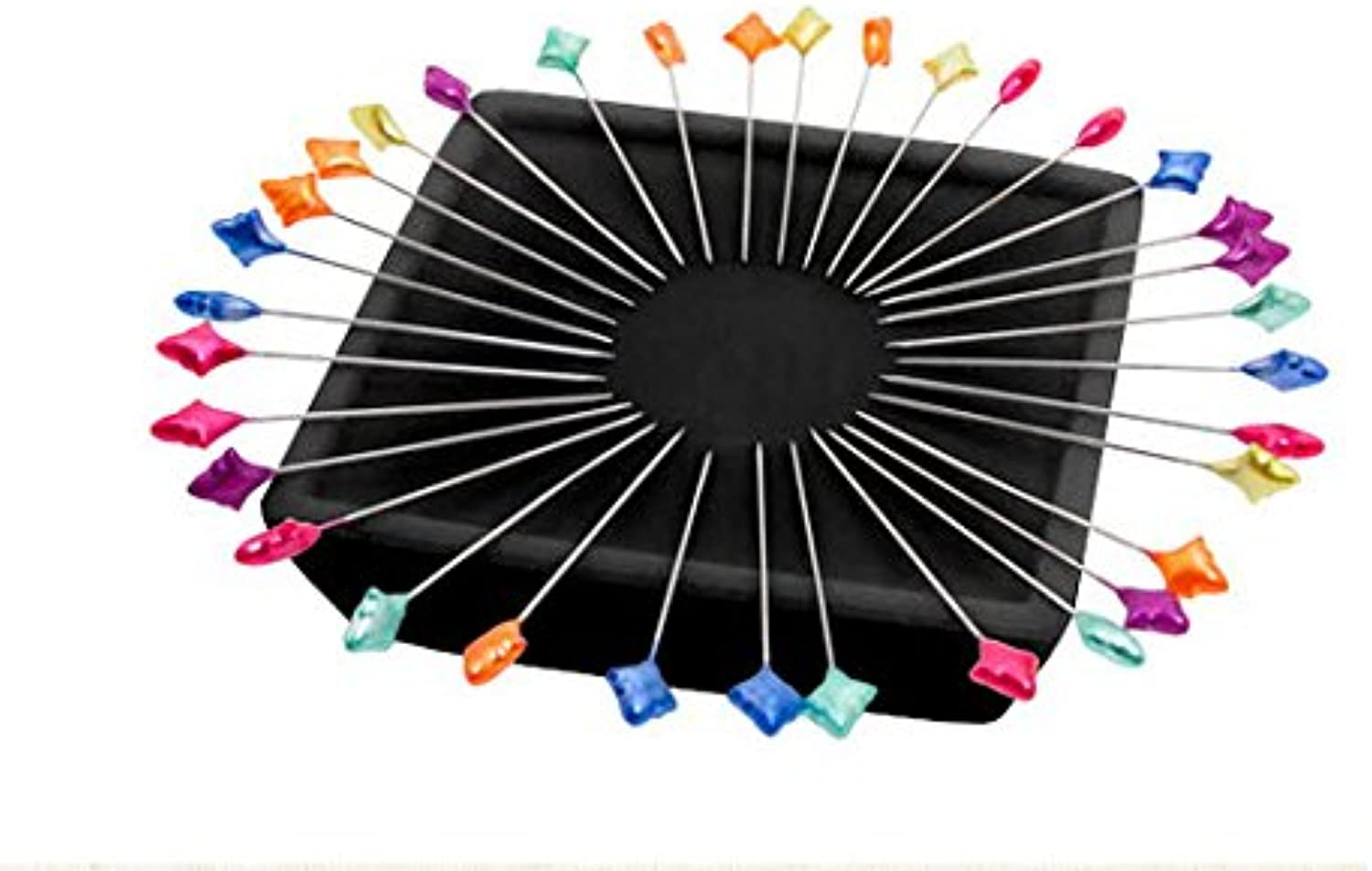 Zirkel Magnetic Pin Cushion  100 Splendid Spear Pins Included  Patty Young  Organise Pins  Paper Weight