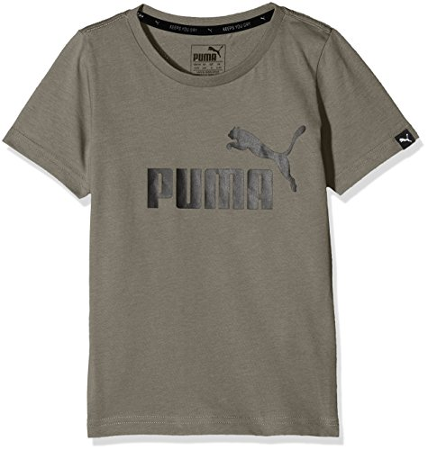 PUMA Kinder ESS No.1 Tee Shirt, Castor Gray, 140