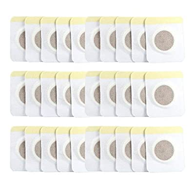 Slim Patch, Belly Slimming Natural Patches Fat Burning Weight Loss Sticker 30pcs/50pcs/100pcs Lazy Abdomen Navel Patch(30pcs (Bag)) from yeyat