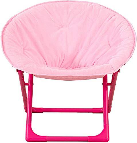 Transporte plegable, conveniente, ahorro de espacio y silla plegable para niños,Pink