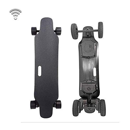 Longboard Elektro-Skateboard, Elektronische Longboard All-Terrain-Fernbedienung Off-Road Elektro-Skateboard, 8800mAh große Kapazitäts-Batterie-Lebensdauer 22km, die maximale Geschwindigkeit erreichen