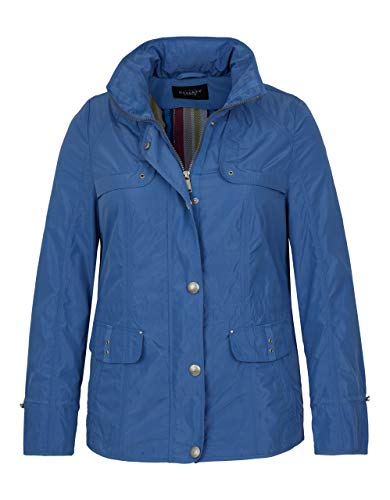 Bexleys Woman by Adler Mode Damen Shape-Memory-Jacke mit dekorativen Knöpfen bleu 50