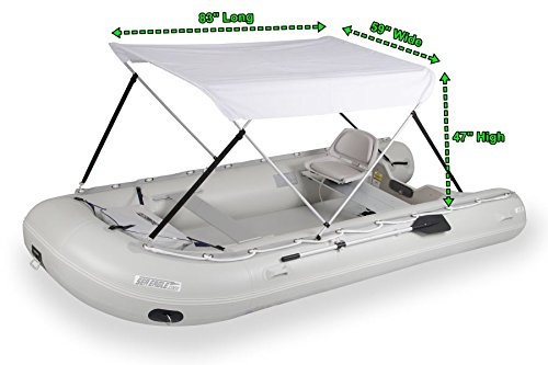 Length of Bimini Top for Inflatable Boats