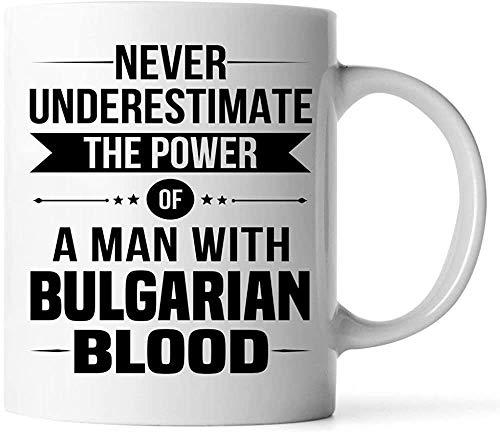 Keyboard cover Tazas – Good Gifts for Bulgaria Man Unique 11oz White Coffee Cup – Pegatinas decorativas Recuerdos