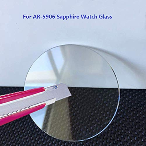 Check Out This BDCJ for Armani AR 5906 Dial Plate Replacement Sapphire Watch Glass Crystal
