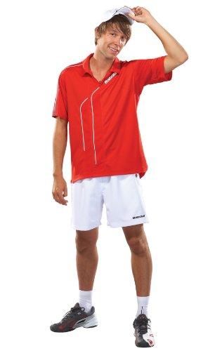 Babolat Polo de Tennis Club Line L Rot