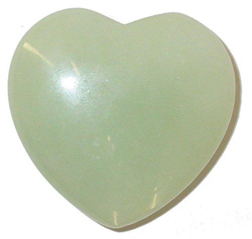 Jade hell Handschmeichler Herz