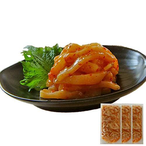 母の日 ギフト イカ屋荘三郎 珍味 ピリ辛 イカキムチ60g×3袋 国産 石川産 お取り寄せ グルメ ヤマキ食品