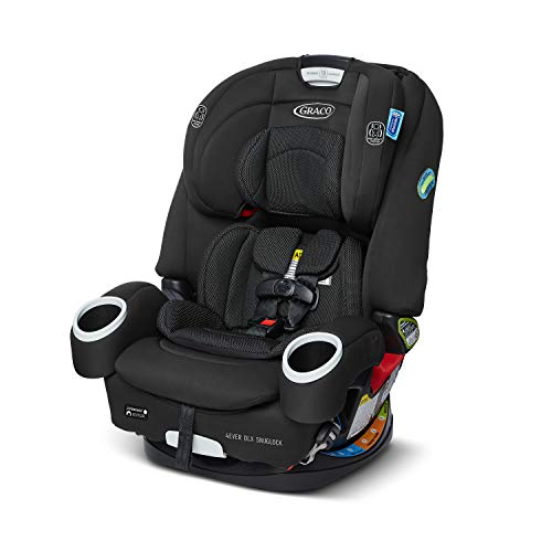 GRACO 4Ever DLX SnugLock 4 in 1 Car Seat Infant to Toddler Car Seat with 10 Years of Use Featuring EasyInstall SnugLock Technology, Tomlin