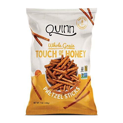 Quinn Snacks - Palitos de pretzel sin gluten Touch of Honey - 7 oz.
