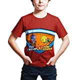 WYPAN Superzings Anime Cartoon Child T-Shirts Around The game-TS14909_S Unisex 3D Printed Tops Tees...