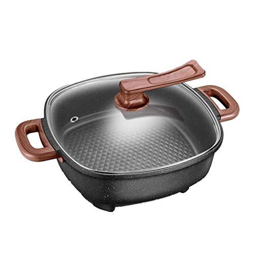 CS-DG Elektrische Vuur Hot Pot Thuis Multi-functie Elektrische Hot Pot Slaapzaal Elektrische Koken Pan Elektrische Wok Koken met Deksel