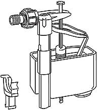 VALSIR serie VS0803511 Canotto per collegamento cassette wc da incasso completo di rosone-morsetto e riduzione 40//45 lunghezza 250 mm bianco