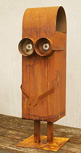 Gartendekoshop24 Minions Rost Skulptur Bob