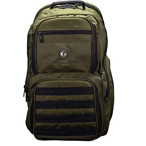 6 Pack Fitness Operator Backpack Meal Management System 300 Olive