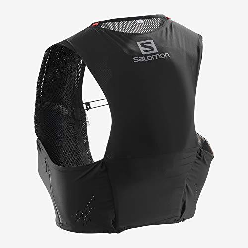 SALOMON Bag S/Lab Sense Ultra 5 Set Chaleco, Unisex Adulto, Black, L
