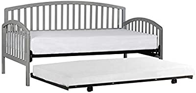 Amazon Com Zinus Eli Twin Daybed And Trundle Frame Set
