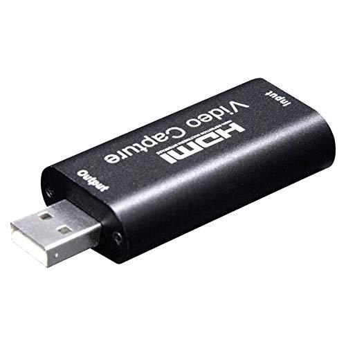 Ruiqas Dispositivo de Captura de Video Hdmi USB 2. 0 Capturador de...