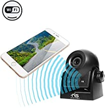 WiFi Magnetic Hitch Camera for Easy Hitching of Trailers, Travel Trailers and Fifth Wheels | RVS-83112-WiFi | Rear View Safety