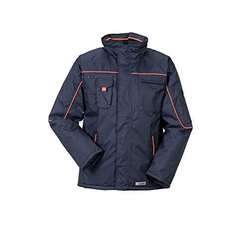Planam Jacke Winter Piper, größe XXL, marine/orange, 3536060