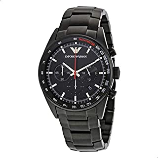 Emporio Armani Mens Quartz Watch, Analog Display and Stainless Steel Strap AR6094