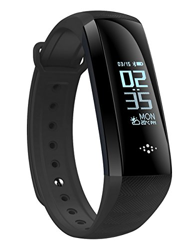 Smart Band,Waterproof Smart Watch Fitness Tracker Activity Wristband HR SPO2 Monitor Pedometer Sleep Monitor Smart Bracelet Calories Track Step Track Health Band with APP for iPhone and Android phones